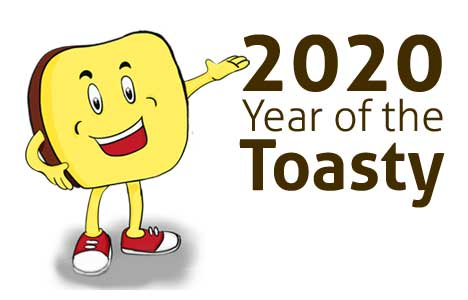 Year of the Toasty